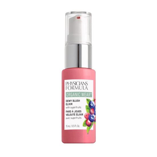 Physicians Formula | Organic Wear Dewy Blush Elixir - Pink Berry - Product front facing on a white background