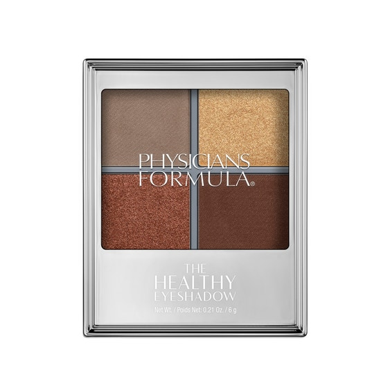 Physicians Formula | The Healthy Eyeshadow- Smoky Bronze - Product front facing top view on a white background