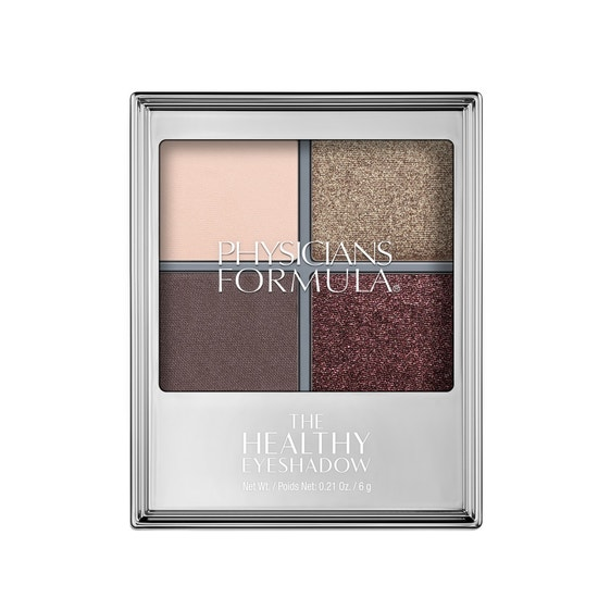 Physicians Formula   The Healthy Eyeshadow- Smoky Plum - Product front facing top view on a white background