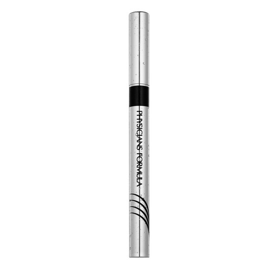 Physicians Formula | Eye Booster Waterproof Ultra-Fine Liquid Eyeliner - Blackest Black - Product front facing on a white background
