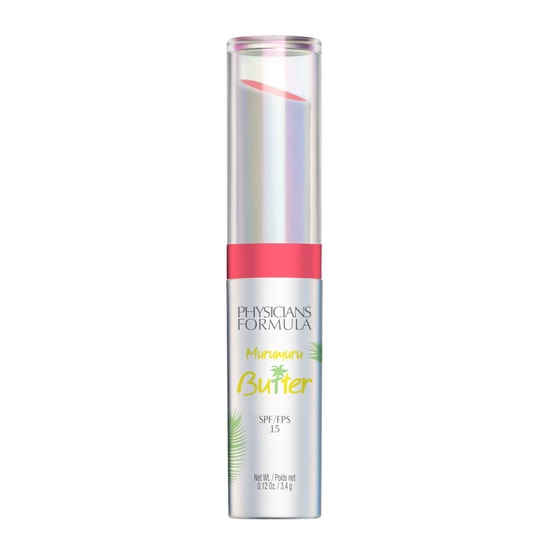 Physicians Formula | Murumuru Butter Lip Cream SPF 15- Flamingo Pink - Product front facing on a white background