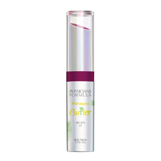 Physicians Formula   Murumuru Butter Lip Cream SPF 15- Carnival - Product front facing on a white background