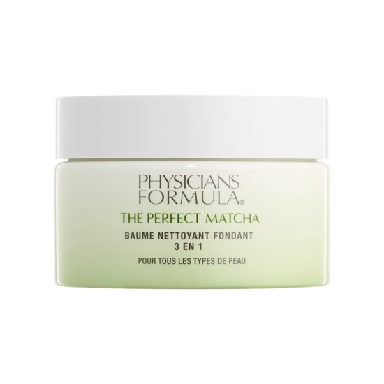 Physicians Formula | The Perfect Matcha 3-in-1 Melting Cleansing Balm, Cleanse - Product front facing on a white background