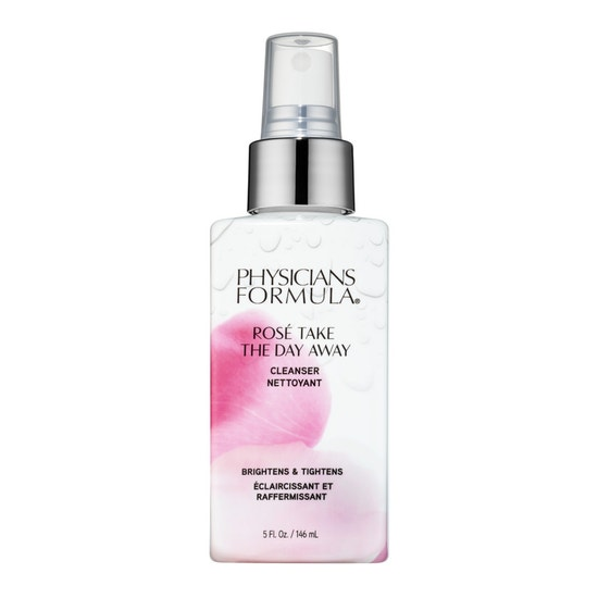Physicians Formula | Rose Take The Day Away Cleanser  - Product front facing on a white background