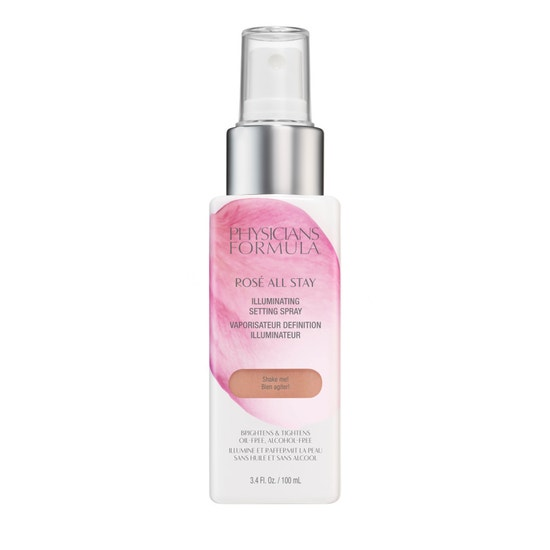 Physicians Formula | Rose All Stay Illuminating Setting Spray - Product front facing on a white background