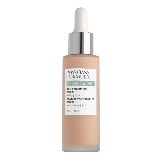 Physicians Formula | Organic Wear Silk Foundation Elixir- Fair - Product front facing on a white background