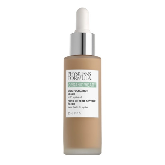 Physicians Formula | Organic Wear Silk Foundation Elixir- Medium - Product front facing on a white background