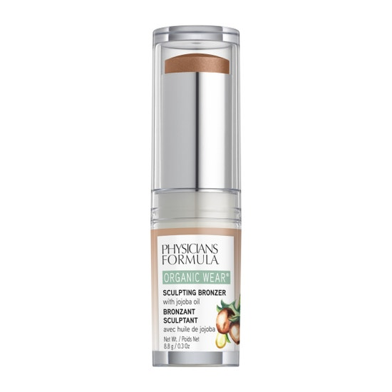 Physicians Formula   Organic Wear Sculpting Bronzer - Toffee - Product front facing on a white background