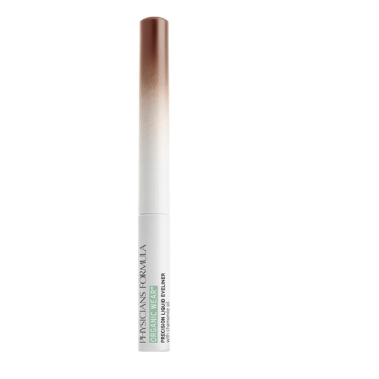 Physicians Formula   Organic Wear Precision Liquid Eyeliner - Brown - Product front facing on a white background
