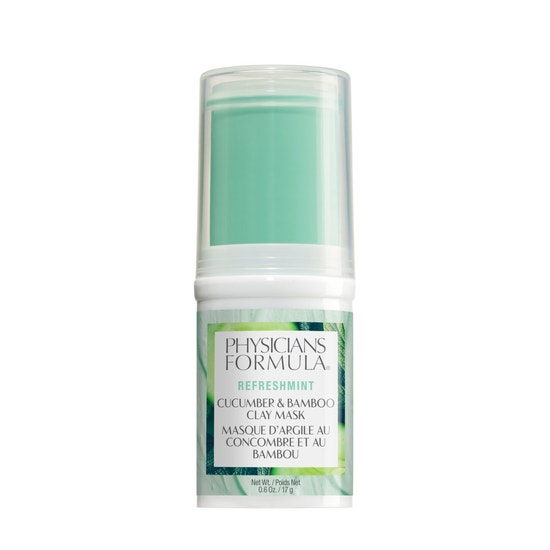 Physicians Formula | RefreshMint Cucumber & Bamboo Clay Mask  - Product front facing on a white background