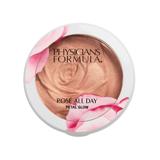 Physicians Formula | Rose All Day Petal Glow - Petal Pink - Product front facing top view on a white background