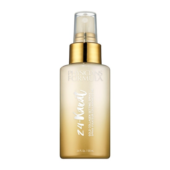 Physicians Formula | 24-Karat Gold Collagen Setting Spray  - Product front facing on a white background