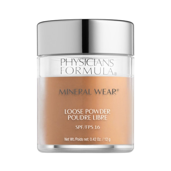 Physicians Formula | Mineral Wear Loose Powder SPF 16-Warm Honey - Product front facing on a white background