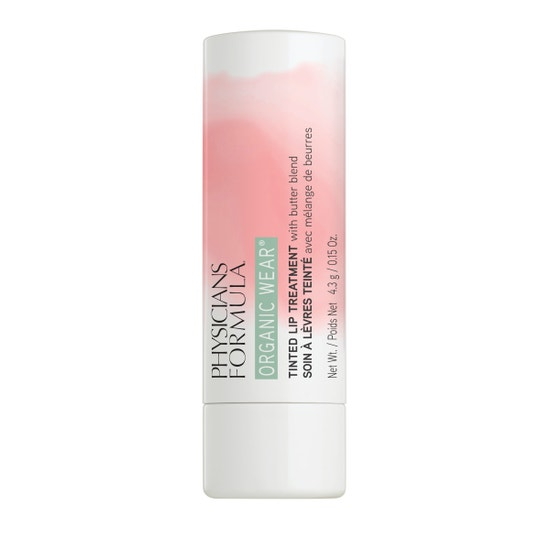 Physicians Formula   Organic Wear Tinted Lip Treatment - Tickled Pink - Product front facing on a white background
