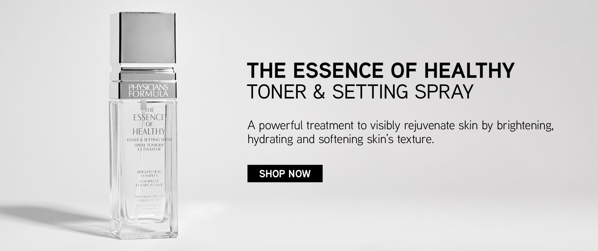 Physicians Formula | The Essence of Healthy Toner & Setting Spray| CLICK HERE TO SHOP NOW