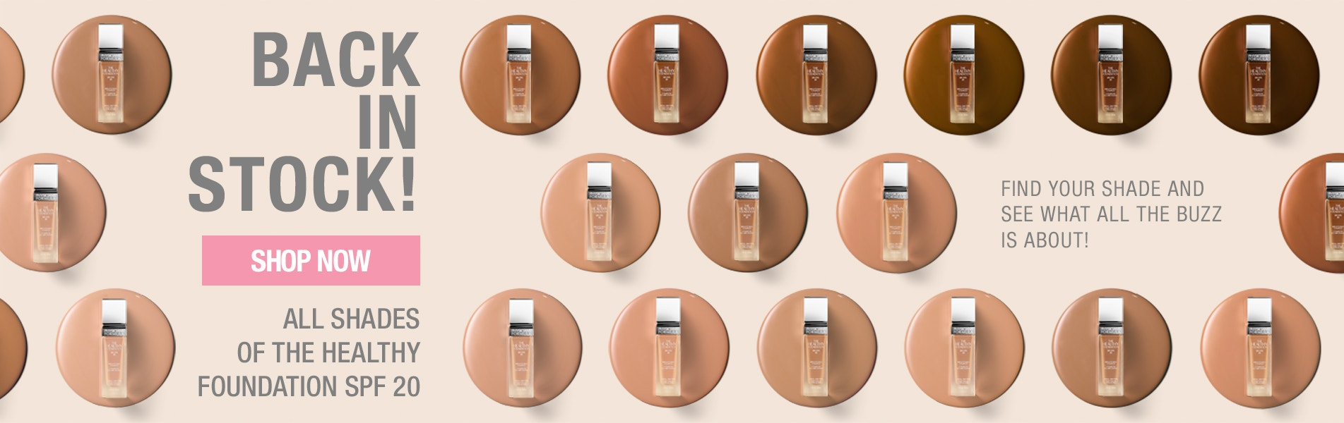 Healthy Foundation Back In Stock - Shop All Shades From Light To Deep
