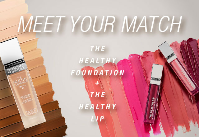 new, the healthy foundation, the healthy lip