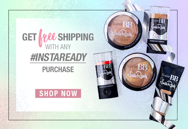 Free Shipping with any #InstaReady Product