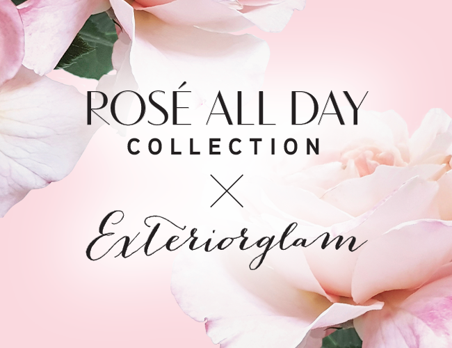 Physicians Formula | Rosé All Day Collection X Exteriorglam - roses and pink background