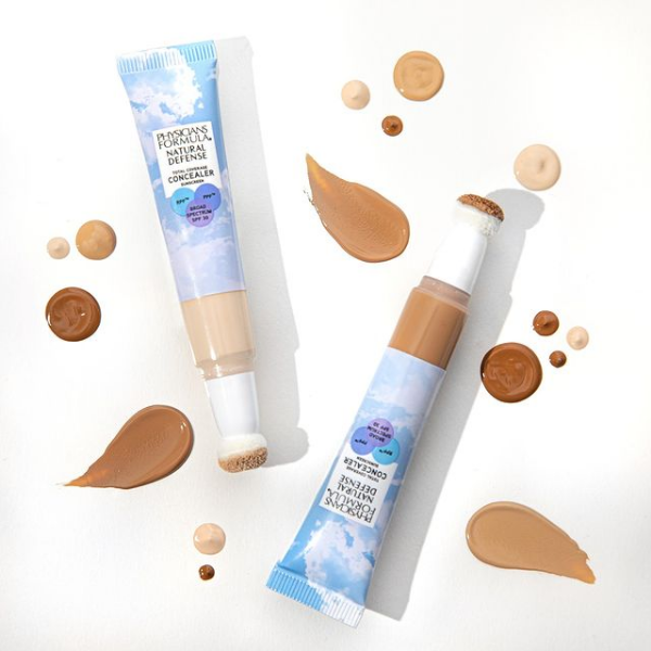 Liquid concealer in light and dark shades