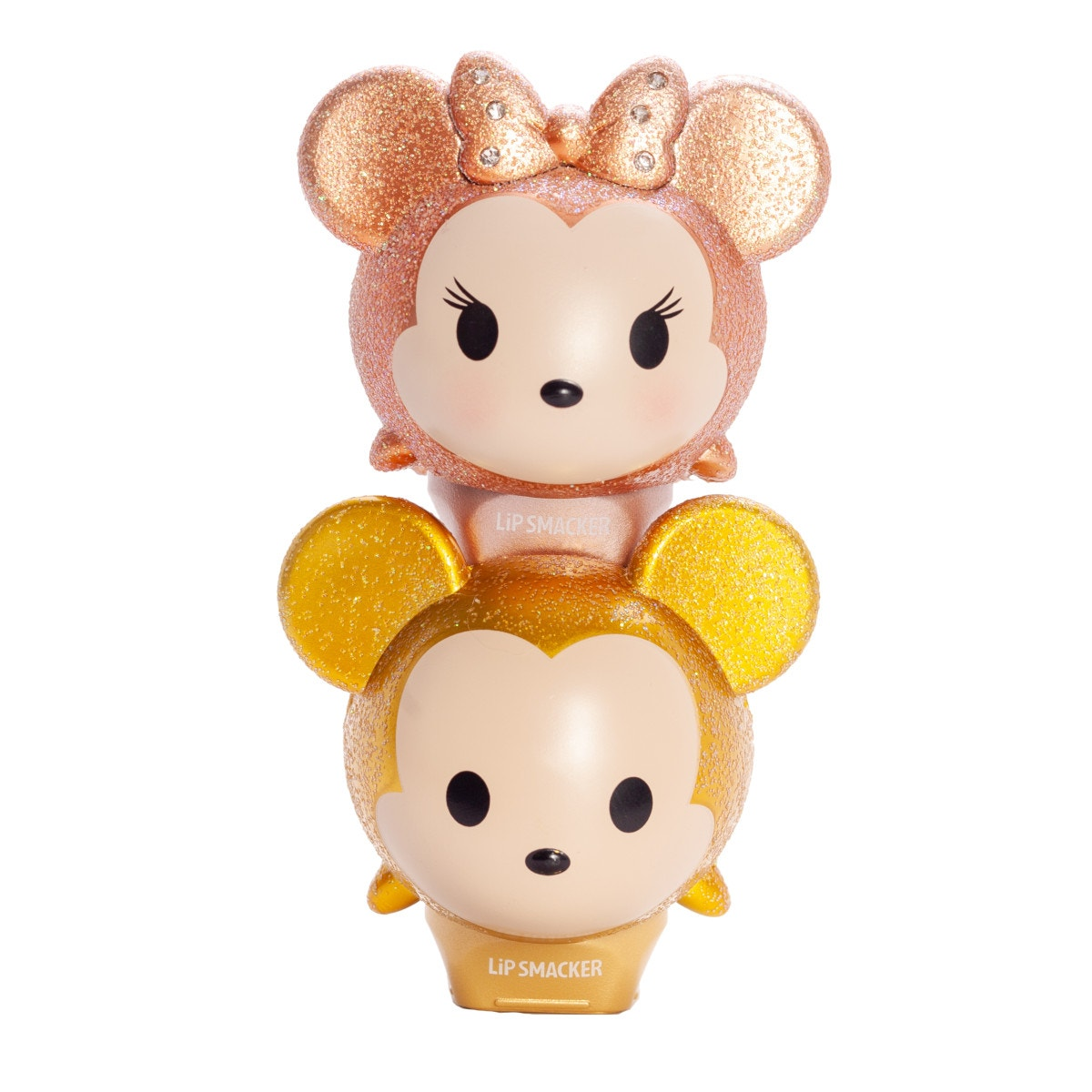 Physicians Formula | Tsum Tsum Duo - Glitter Gold Mickey & Minnie - Product front facing stalked with no background